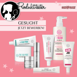 Produkttester soap and glory